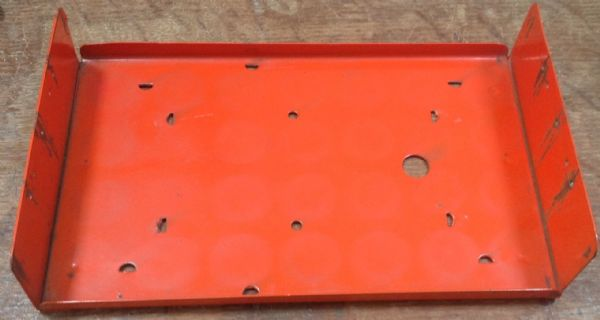 Original Tri-ang / Triang Junior pressed steel series rear Orange Back for a Milk Truck